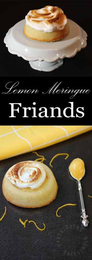 Lemon meringue friands